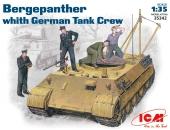 Bergepanther c немецким танковым экипажем