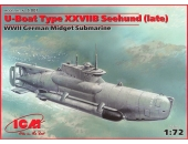 U-Boot type XXVIIB Seehund (поздняя)