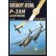 P-38H Lightning + лазерная резка + остекление кабины