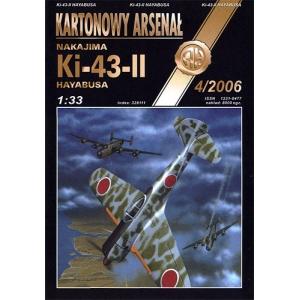 Ki-43-II Hayabusa + лазерная резка + остекление кабины