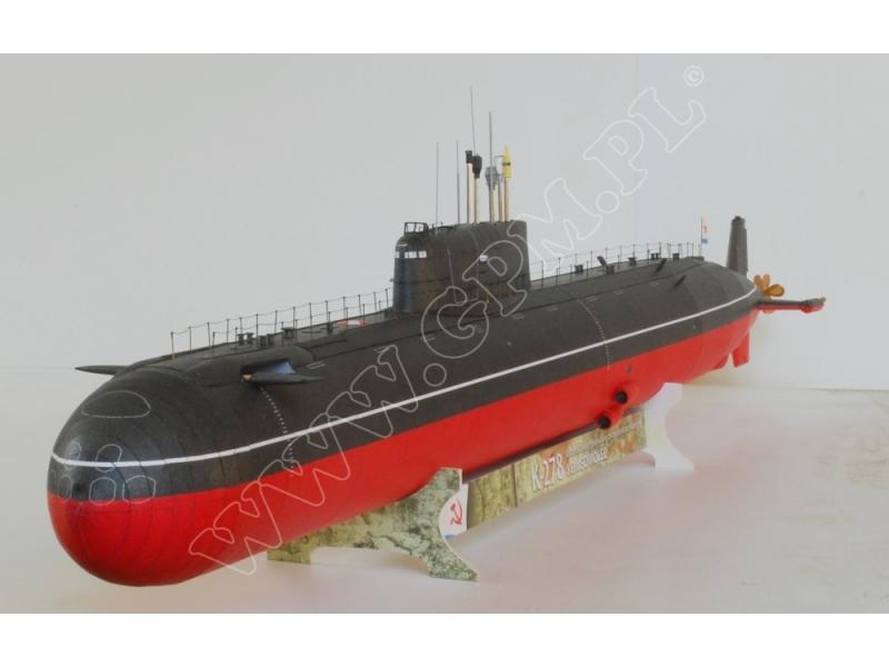"K-278 ""Komsomolets"" — paper model | FreeTime Online Store"