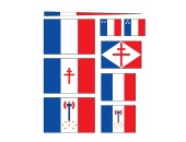 Флажки, Франция, линкор