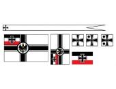 Флажки, Германия 1 мировая, крейсер