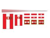 Флажки, Австро-Венгрия, эсминец