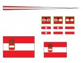 Флажки, Австро-Венгрия, крейсер