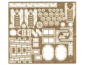 Brilliant patrol gunboat photo-etched parts