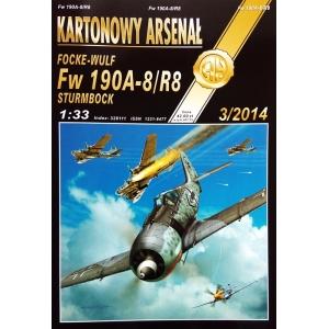 Focke-Wulf Fw 190A-8/R8 Sturmbock + laser cut frames + wheels
