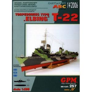 T-22 тип 1939 (Elbing)