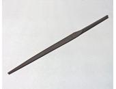 Надфиль 80мм трехгранный, односторонний, насечка №0